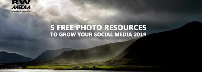 5 free photo resources to grow your social media 2019